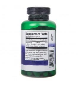 Swanson Albion Chelat Magnezu 133 mg - 90 kapsułek