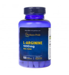Puritan's Pride L-Arginina 1000 mg - 100 tabletek