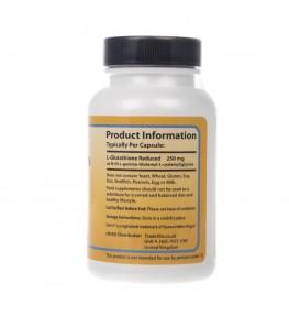 Healthy Origins L-Glutathione Reduced 250 mg - 60 kapsułek