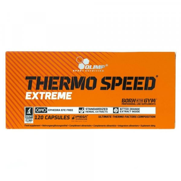 Olimp Thermo Speed Extreme - 120 kapsułek