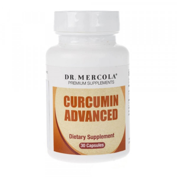 Dr Mercola Curcumin Advanced - 30 kapsułek