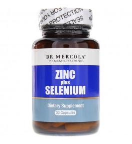 Dr Mercola Zinc plus Selenium - 30 kapsułek