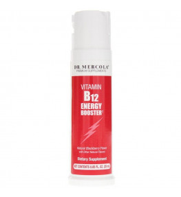 Dr Mercola Witamina B12 Energy Booster - 25 ml
