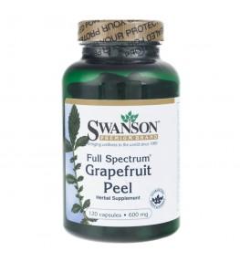 Swanson Grapefruit Peel (skórka grejpfruta) 600 mg - 120 kapsułek
