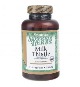 Swanson Ostropest Plamisty standaryzowany 250 mg - 120 kapsułek