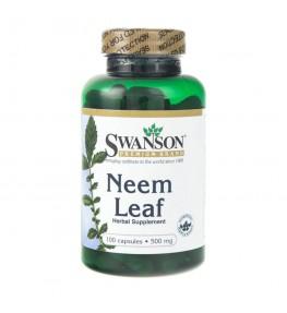 Swanson Neem Leaf 500 mg - 100 kapsułek
