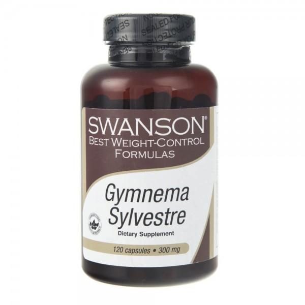 Swanson Gymnema Sylvestre standaryzowana 300 mg - 120 kapsułek