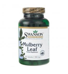 Swanson Mulberry Leaf (liść morwy) - 120 kapsułek