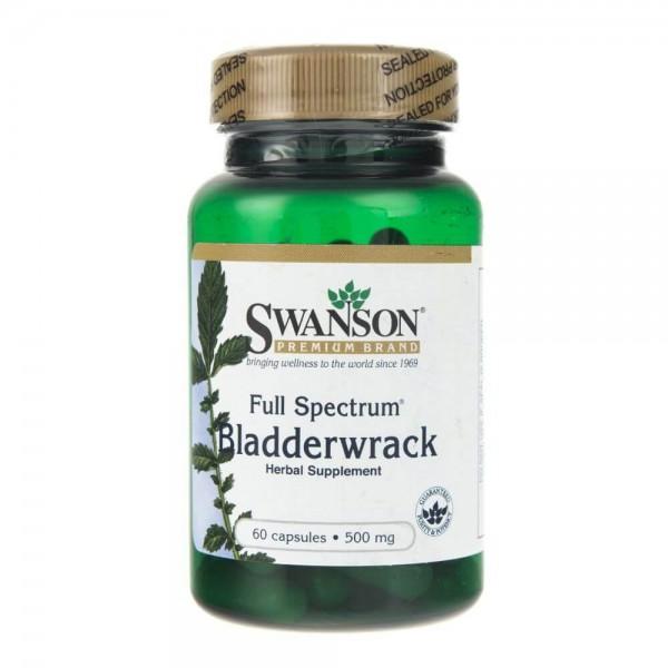 Swanson Bladderwrack (Morszczyn Pęcherzykowaty) 500 mg - 60 kapsułek