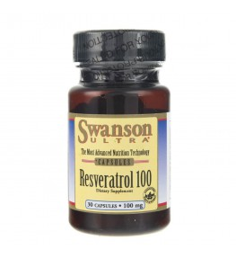 Swanson Resweratrol 100 - 30 kapsułek