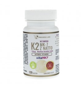 Progress Labs Witamina K2 Vita-MK7 100 mcg - 120 tabletek