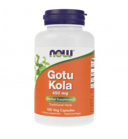 Now Foods Gotu Kola 450 mg - 100 kapsułek