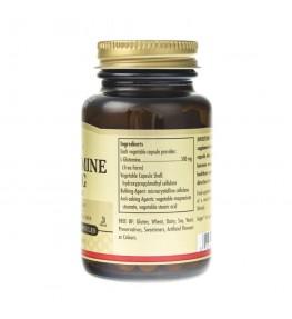 Solgar L-Glutamina 500 mg - 50 kapsułek