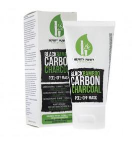 Black Bamboo Mask - czarna maska z bambusowym węglem drzewnym - 50 ml