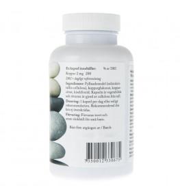 Holistic Koppar (Miedź) 2 mg - 100 kapsułek