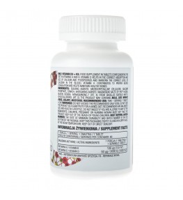 OstroVit Witamina D3 + K2 - 90 tabletek