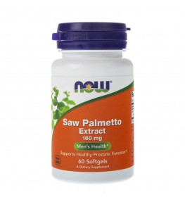 Now Foods Saw Palmetto Extract (Palma Sabałowa) 160 mg - 60 kapsułek
