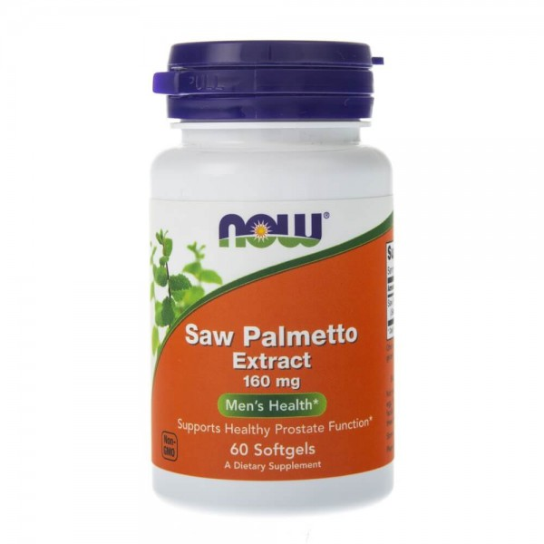 Now Foods Saw Palmetto Extract (Palma Sabałowa) 160 mg - 60 kapsułek