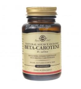 Solgar Naturalny Beta Karoten 7 mg - 60 kapsułek