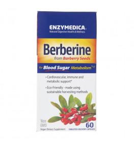 Enzymedica Berberyna 500 mg - 60 kapsułek
