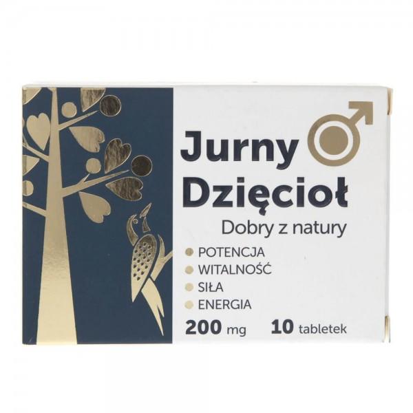 MedFuture Jurny Dzięcioł 200 mg - 10 tabletek