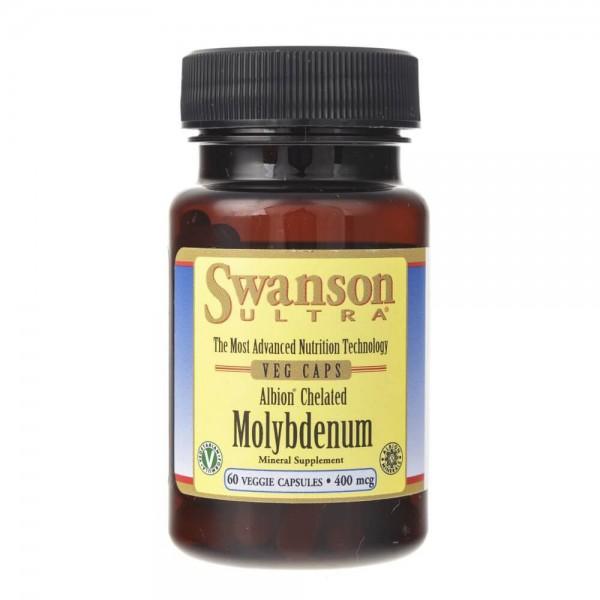 Swanson Molibden 400 mcg - 60 kapsułek