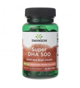 Swanson Super DHA 500 - 30 kapsułek