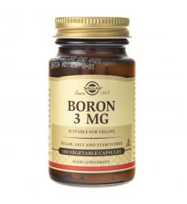 Solgar Bor 3 mg - 100 kapsułek