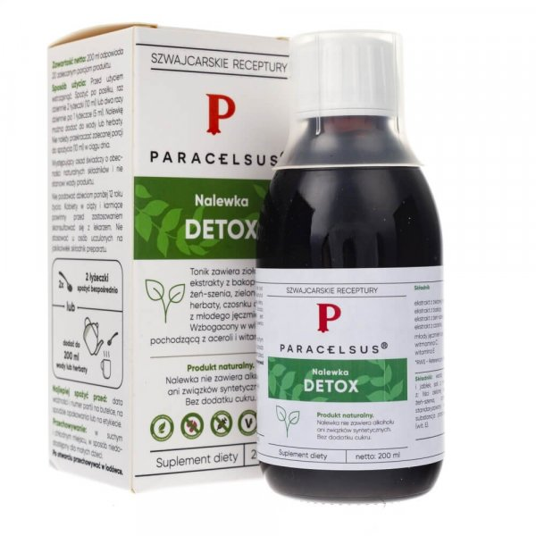 Paracelsus nalewka detox - 200 ml
