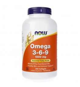 Now Foods Omega 3-6-9 1000 mg - 250 kapsułek