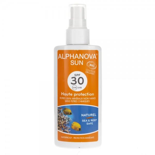 Alphanova Sun Bio Spray Przeciwsłoneczny filtr SPF 30 - 125 g