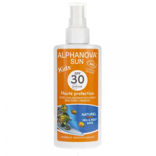 Alphanova Sun Spray Przeciwsłoneczny dla dzieci SPF 30 - 125 g