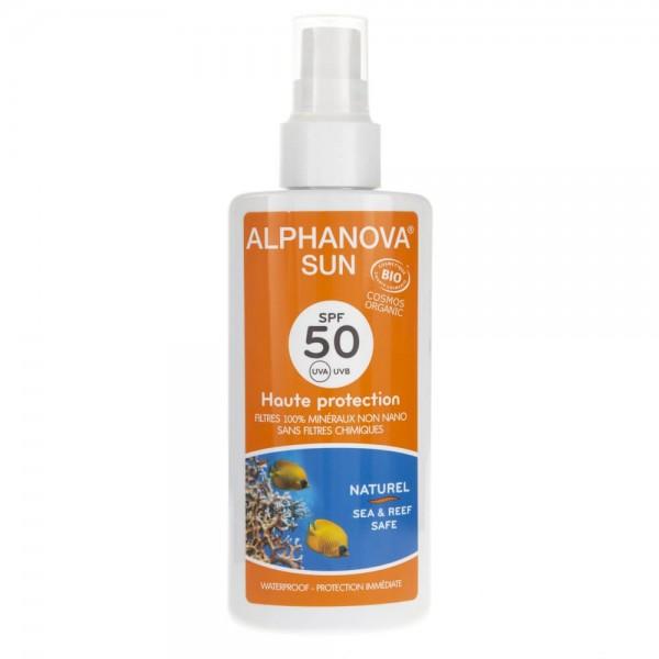 Alphanova Sun Spray Przeciwsłoneczny SPF 50 - 125 g