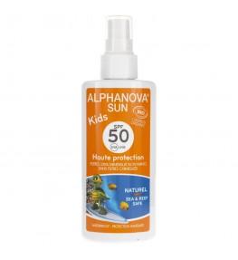 Alphanova Sun Spray Przeciwsłoneczny dla dzieci SPF 50 - 125 g