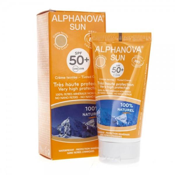 Alphanova Sun Krem Przeciwsłoneczy filtr SPF 50+ - 50 g