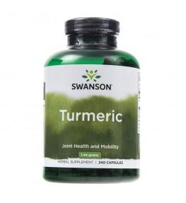 Swanson Kurkuma (Turmeric) 720 mg - 240 kapsułek
