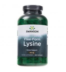 Swanson L-Lysine (L-Lizyna) 500 mg - 300 kapsułek