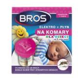 Bros Elektro + płyn na komary dla dzieci od 1 roku życia
