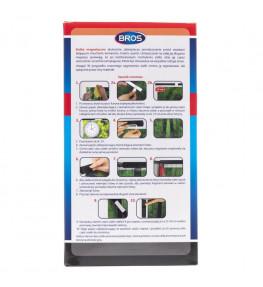 Bros Siatka magnetyczna na drzwi na owady czarna 100 x 220 cm