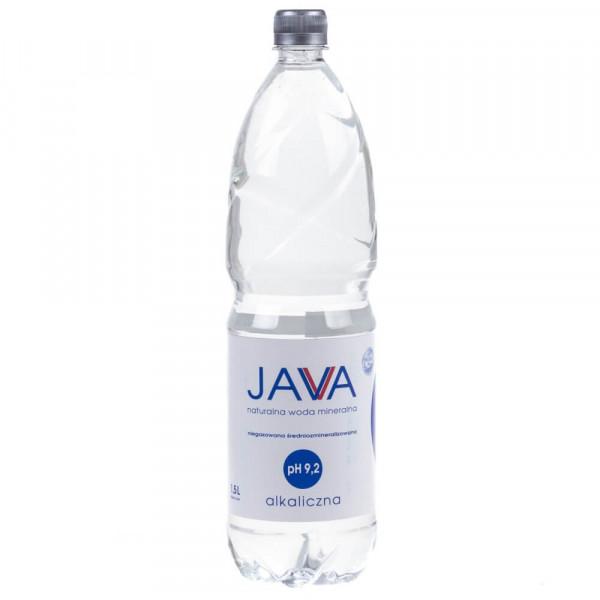 JAVA woda alkaliczna niegazowana pH 9,2 - 1,5L