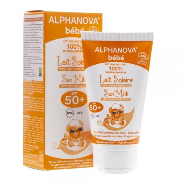 Alphanova Bebe Krem Przeciwsłoneczny SPF 50+ - 50 ml