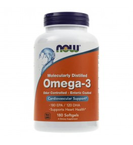 Now Foods Omega-3 1000 mg - 180 kapsułek