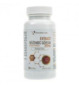 Progress Labs Różeniec Górski 200 mg Ekstrakt 20:1 - 60 kapsułek