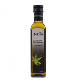India Olej konopny tłoczony na zimno - 250 ml