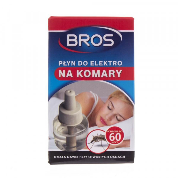 Bros Płyn do elektro na komary 60 nocy - 40 ml
