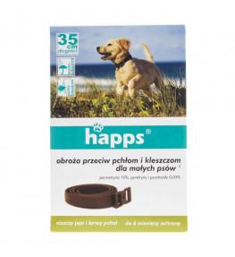 Happs Obroża przeciw pchłom i kleszczom dla małego psa 35 cm