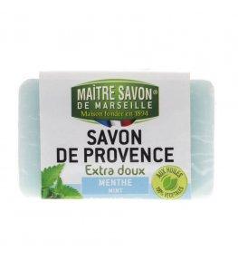Mydło marsylskie mięta 100 g - Maître Savon
