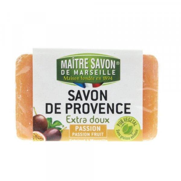 Mydło marsylskie marakuja 100 g - Maître Savon