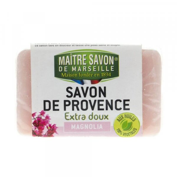 Mydło marsylskie magnolia 100 g - Maître Savon