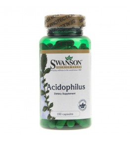 Swanson Acidophilus - 100 kapsułek